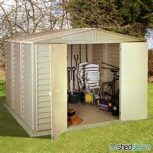 8 x 5 duramax duramate plastic shed shedstore