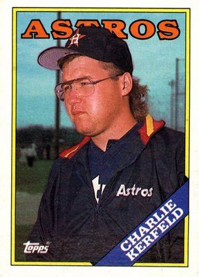 do they still make baseball cards how did kerfield commemorate his number