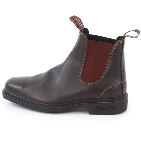 chelsea boots mens blundstone 062 mens slip on leather chelsea boots shoes