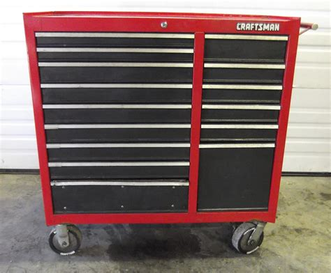 Craftsman 15 Drawer Tool Box craftsman rolling 15 drawer tool chest ebay