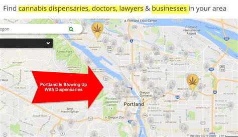 map of oregon dispensaries portland dispensaries are of dank herb and great prices