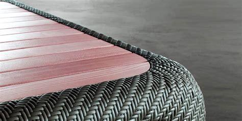 table basse resine tressee 1200 coti design salon bora bora 03 salons de jardin sur