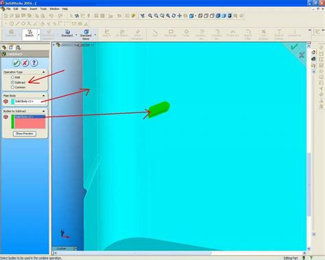 solidworks pattern of bodies solidworks design simple tutorial solidwork combine body