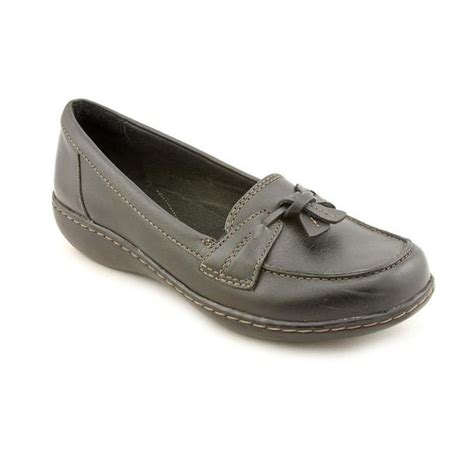 shop clarks womens ashland bubble leather dress shoes wide size   shipping today