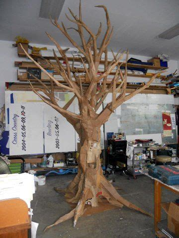 How To Make A Big Paper Tree - best 25 cardboard tree ideas on trees