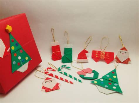 Origami Natal - kit enfeites de natal de origami omura elo7