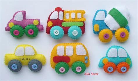 Moldes Carros En Fieltro | moldes para hacer carros de fieltro