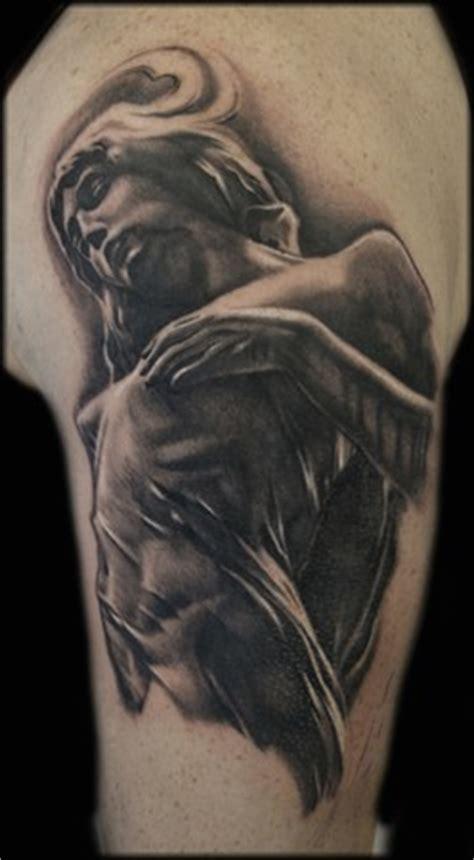 tattoo angel statue angel statue tattoo by jason butcher tattoonow