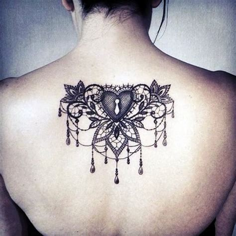 black lace tattoo designs 101 lace tattoos designs and ideas
