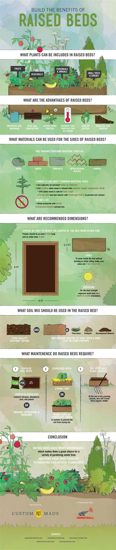 benefits of raised garden beds the benefits of raised garden beds infographic the