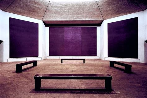 Mark Rothko, the Rothko Chapel An Interior of Spiritual and Artistic Subtlety Masterpiece by