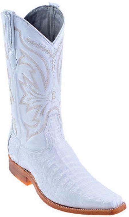 cowboy boots for fashion style caiman vintage white los altos mens cowboy boots western