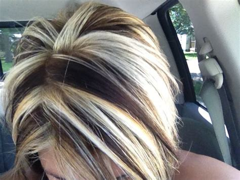 chunking highlights dark hair pictures 17 best ideas about chunky highlights on pinterest