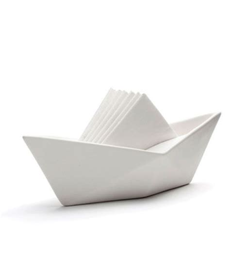 Origami Napkin Holder - oltre 25 fantastiche idee su barca di origami su