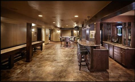 Basement flooring ideas   types, options, pros and cons