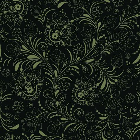 seamless backdrop seamless floral background green free vector graphics all free web resources for
