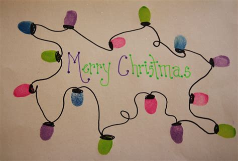 fingerprint christmas lights craft grasping for objectivity