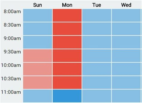 how to make a weekly calendar for kids visual 6 steps