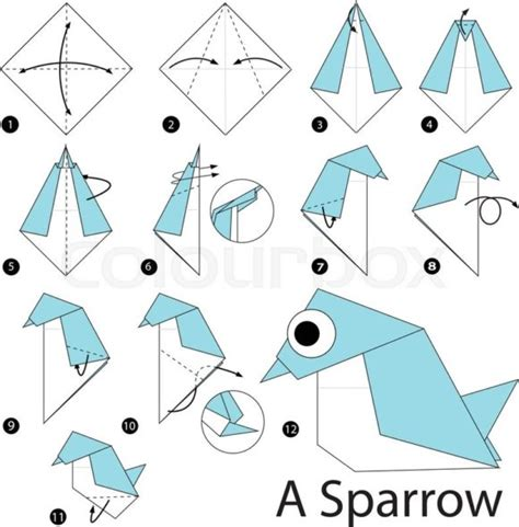 Step By Step How To Make A Paper Boat - free coloring pages to make origami 101 coloring pages