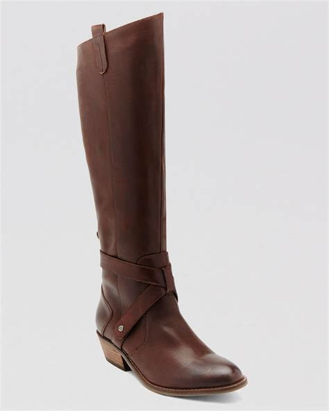 dolce vita shoes dv by dolce vita boots clinton in brown lyst