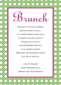 birthday brunch invitations wblqual com