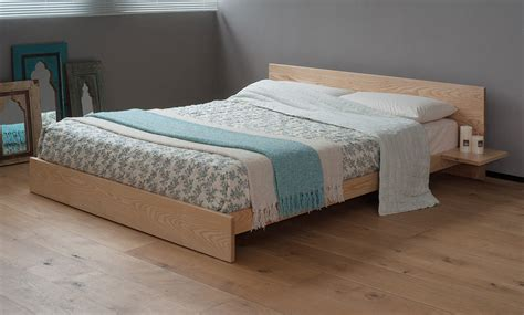 wooden platform beds kulu platform wooden bed natural bed company