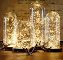 starry string lights restoration hardware glass cloche and starry string lights from