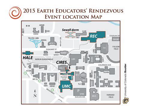 cu boulder map participant information