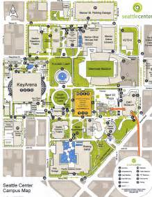 Seattle Center Map by Seattle Center Maps Pinterest