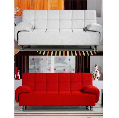 divano letto bianco divano letto 200x99 bianco rosso con braccioli