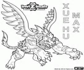 dinosaur robot coloring page coloriage invizimals shadow zone 224 imprimer