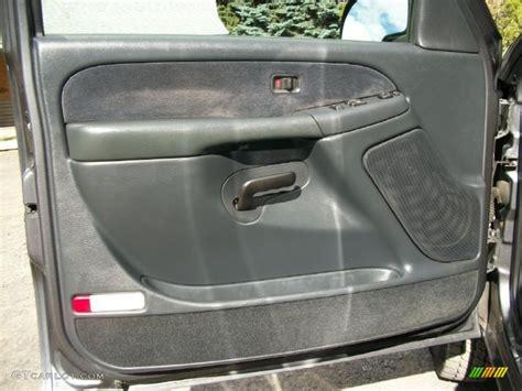 Chevy Truck Interior Door Panels 2000 Chevrolet Silverado 2500 Ls Extended Cab 4x4 Graphite Door Panel Photo 72241097 Gtcarlot