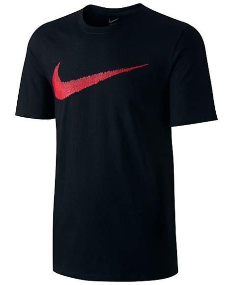 Nike Swoosh S Shirt nike s hangtag swoosh t shirt t shirts macy s