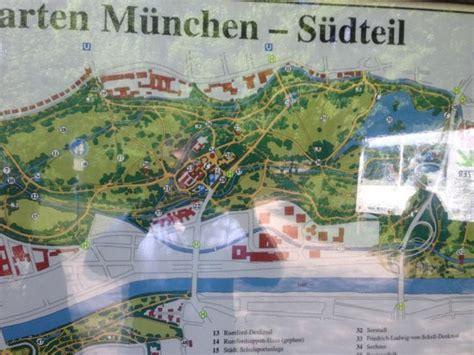 Englischer Garten Maps by Map Of Garden Photo De Englischer Garten Munich