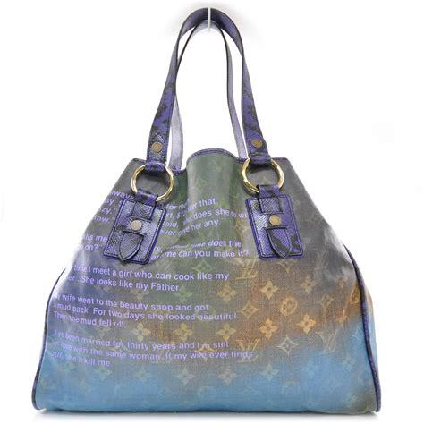 Louis Vuitton Richard Prince Big City After Handbag Line by Fashionphile Louis Vuitton Richard Prince Heartbreak