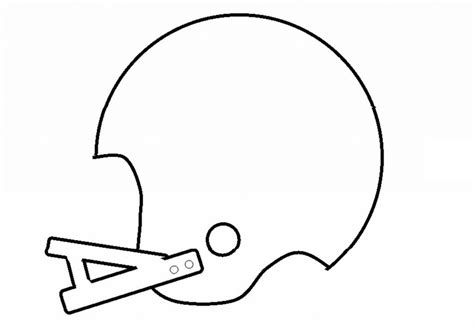football helmet template myideasbedroom com