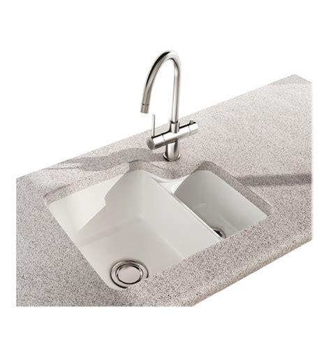 Carron Phoenix Carlow 150 Ceramic Undermount Bowl Half Ceramic Undermount Kitchen Sink
