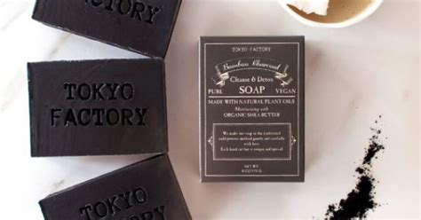 Organic Charcoal Detox Soap by Detox Soap Bamboo Charcoal Soap With Organic Shea Butter