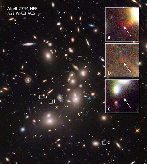 Light Years Away by Hubble Finds Small Galaxy More Than 13 Billion Light Years