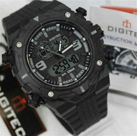 Jam Tangan Pria Reddington Bj431 Original Black Grey T1310 jual jam tangan digitec dg 3013 original terbaru