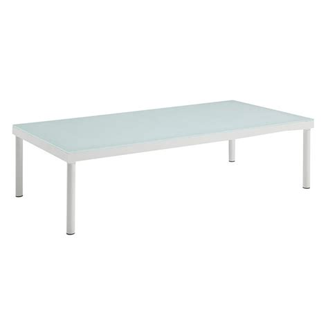white outdoor coffee table havasu modern white outdoor coffee table eurway