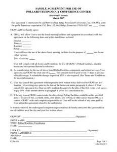 5 sample contract agreementreport template document