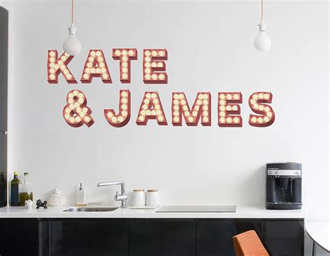 sticker letters for walls wall stickers retro cinema marquee letters contemporary wall stickers