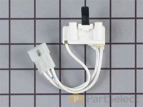whirlpool 3406107 door switch 3 wire partselect ca