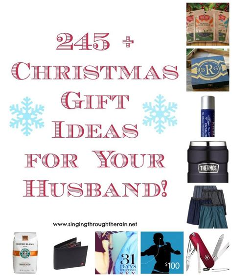 245 christmas gift ideas for your husband christmas