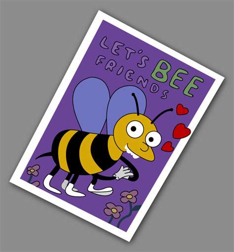 simpsons valentines card i choo choo choose you deconcept