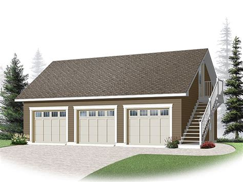 Three Car Garage Plans by Three Car Garage Plans 3 Car Garage Loft Plan With Cape