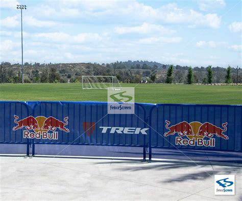 511 Series Outdoor custom print logo graphic on outdoor event fence banner