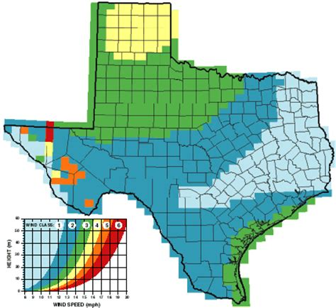 texas wind farm map wind energy energy technology policy