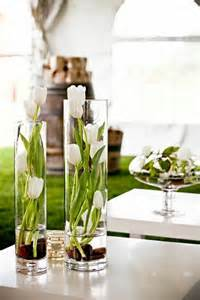 36 great ideas for table decorations with tulips